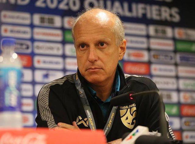 """HLV U23 Thái Lan Alexandre Gama: """"Tôi bất ngờ với tỉ số trận đấu"""""""