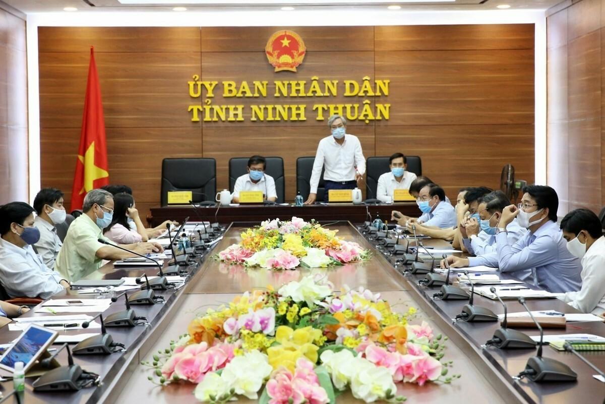 Ninh Thuận cách ly thôn Văn Lâm 3