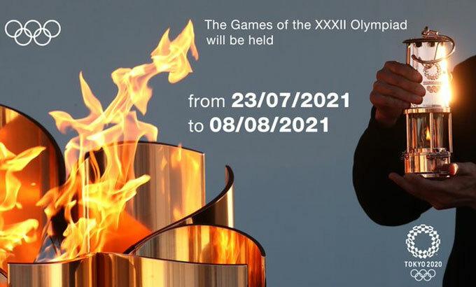 Olympic Tokyo diễn ra cuối tháng 7/2021