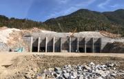 Rút ngắn tiến độ thi công Cụm công trình cửa xả Dự án Thủy điện tích năng Bác Ái
