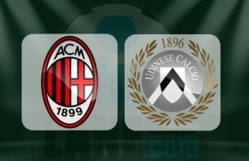 Xem trực tiếp AC Milan vs Udinese ở đâu?