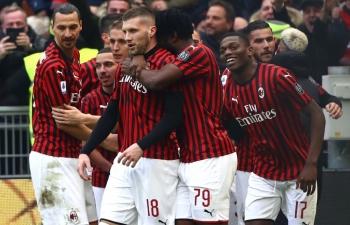 Link xem trực tiếp AC Milan vs Udinese (Serie A), 2h45 ngày 4/3