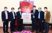 EVN ủng hộ 1 tỷ đồng hỗ trợ tỉnh Hải Dương chống dịch Covid-19