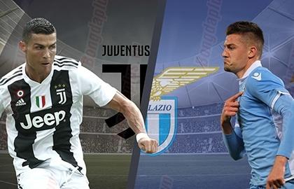Xem trực tiếp Juventus vs Lazio ở đâu?