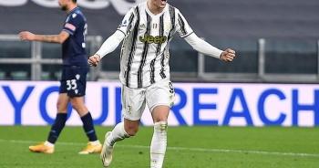 """Morata bất ngờ rực sáng, Juventus xuất sắc """"vùi dập"""" Lazio"""