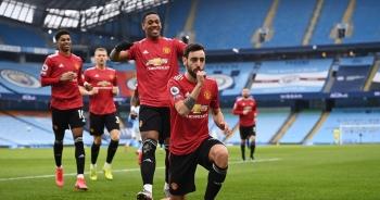 Man City 0-2 Man Utd: Đòn knock-out chớp nhoáng