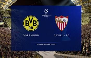 Xem trực tiếp Dortmund vs Sevilla ở đâu?