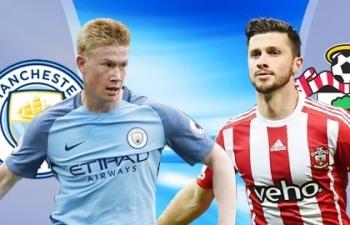 Link xem trực tiếp Man City vs Southampton (Ngoại hạng Anh), 3h ngày 11/3