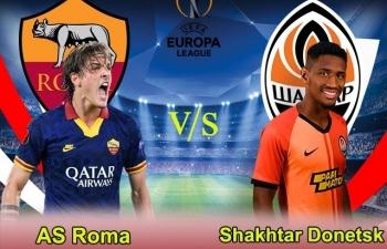 Xem trực tiếp Roma vs Shakhtar Donetsk ở đâu?