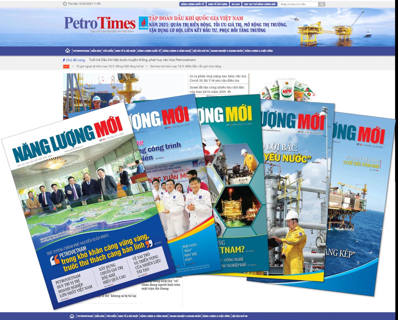 Bí thư Đảng uỷ, Chủ tịch HĐTV Petrovietnam Hoàng Quốc Vượng gửi thư chúc mừng Tạp chí Năng lượng Mới nhân Kỷ niệm 10 năm ngày ra số đầu tiên (14/3/2011 - 14/3/2021)