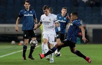 Link xem trực tiếp Real Madrid vs Atalanta (Cup C1 Châu Âu), 3h ngày 17/3