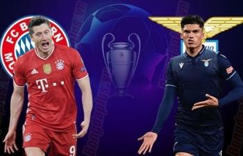 Xem trực tiếp Bayern vs Lazio ở đâu?