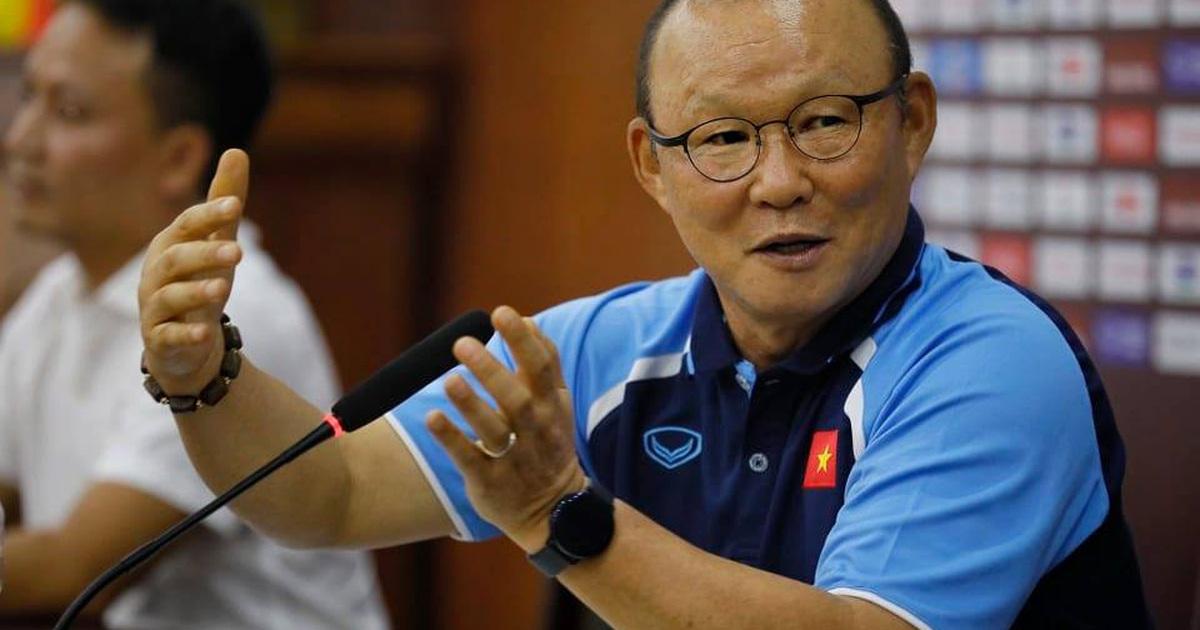 HLV Park Hang Seo khẳng định vị trí chính thức của Văn Lâm