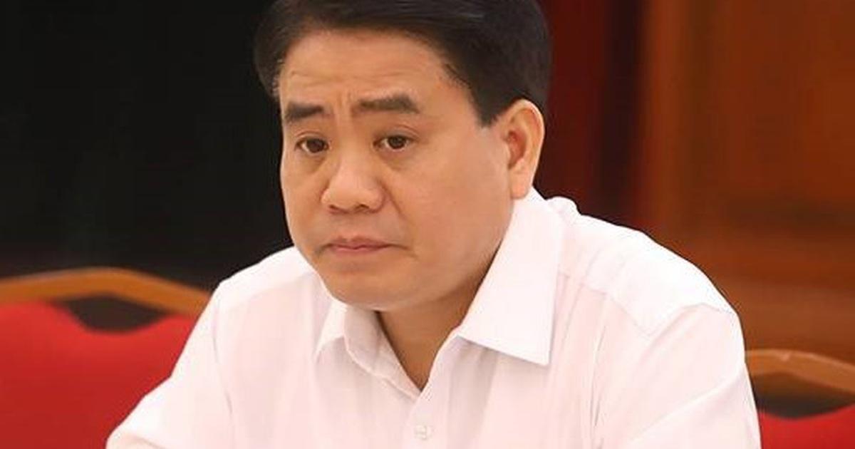 Liên quan đến vụ mua chế phẩm Redoxy 3C, ông Nguyễn Đức Chung bị khởi tố