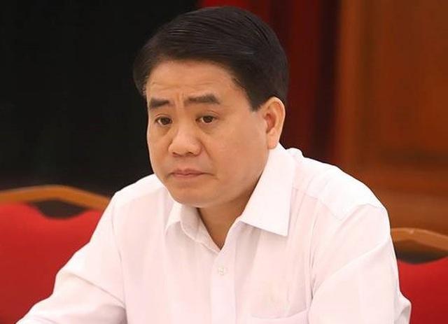 Liên quan đến vụ mua chế phẩm Redoxy 3C, ông Nguyễn Đức Chung bị khởi tố  - 1