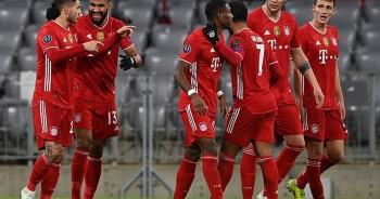 Thắng chung cuộc Lazio 6-2, Bayern Munich tiến vào tứ kết Champions League