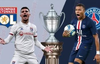Link xem trực tiếp Lyon vs PSG (Ligue 1), 3h ngày 22/3