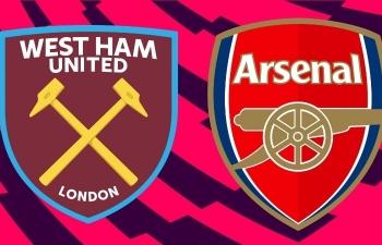 Xem trực tiếp West Ham vs Arsenal ở đâu?