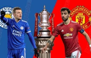 Xem trực tiếp Leicester vs Man Utd ở đâu?