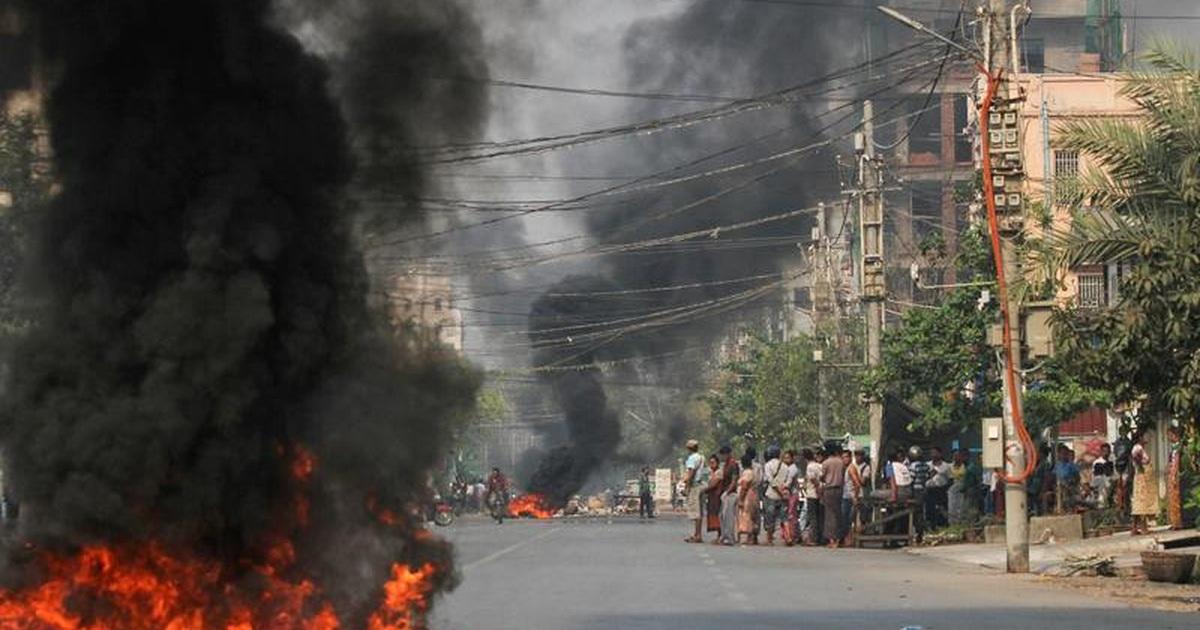 Cơ sở của đại sứ quán Mỹ tại Myanmar bị nã đạn