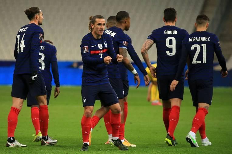 Link xem trực tiếp Kazakhstan vs Pháp (vòng loại World Cup 2022), 20h ngày 28/3