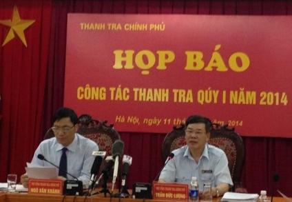 Thanh tra Chính phủ nhận khuyết điểm trong công tác cán bộ