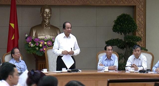 14 Bộ nợ thể chế: Tổ công tác của Thủ tướng vào cuộc