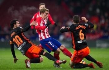 0h30 ngày 25/4, trực tiếp bóng đá Atletico Madrid vs Valencia (La Liga)