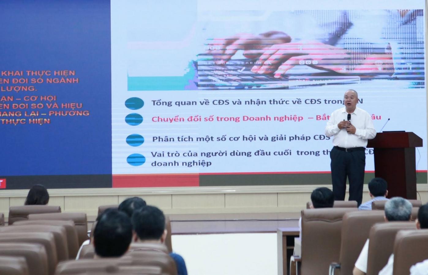100% cán bộ, nhân viên của EVNHANOI được đào tạo về nhận thức chuyển đổi số