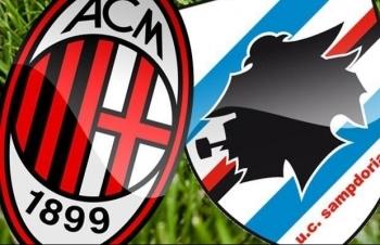Xem trực tiếp AC Milan vs Sampdoria ở đâu?