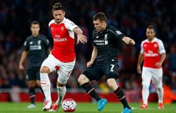 Link xem trực tiếp Arsenal vs Liverpool (Ngoại hạng Anh), 2h ngày 4/4
