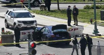 Tấn công tại trụ sở quốc hội Mỹ, 1 cảnh sát thiệt mạng