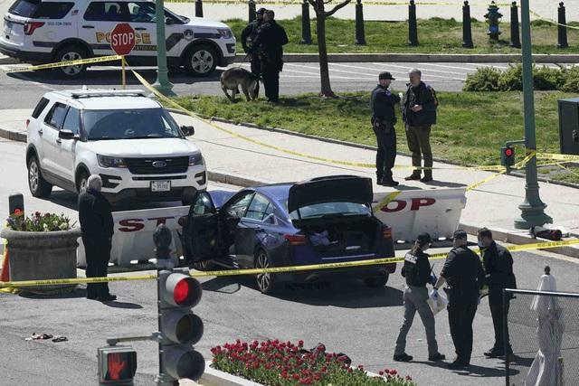 Tấn công tại trụ sở quốc hội Mỹ, 1 cảnh sát thiệt mạng - 2