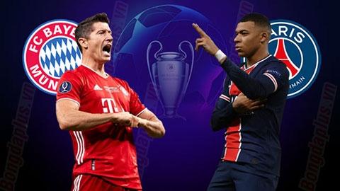Link xem trực tiếp Bayern vs PSG (Cup C1 Châu Âu), 2h ngày 8/4