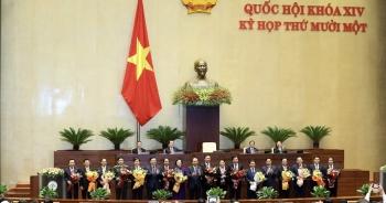 Kết quả bỏ phiếu phê chuẩn bổ nhiệm 12 Bộ trưởng mới của Chính phủ