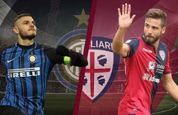 Xem trực tiếp Inter vs Cagliari ở đâu?