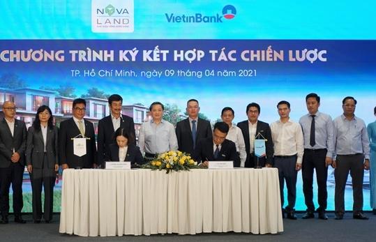 VietinBank và Novaland hợp tác chiến lược