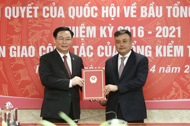 Ông Trần Sỹ Thanh nhận bàn giao nhiệm vụ Tổng Kiểm toán Nhà nước - 1