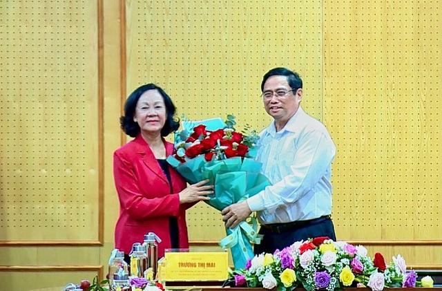 Thủ tướng vui mừng khi lần đầu tiên có nữ Trưởng Ban Tổ chức Trung ương - 1