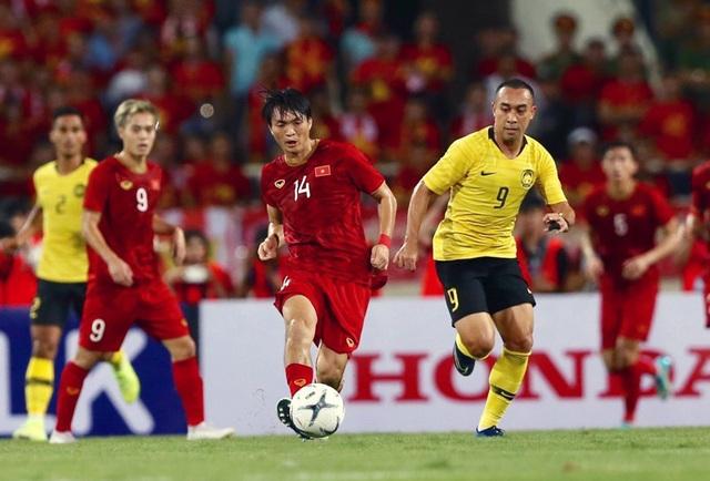 Thái Lan, Malaysia đi trước tuyển Việt Nam một bước ở vòng loại World Cup - 2