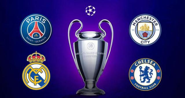 PSG đụng độ Man City, Real Madrid đại chiến Chelsea ở bán kết - 1