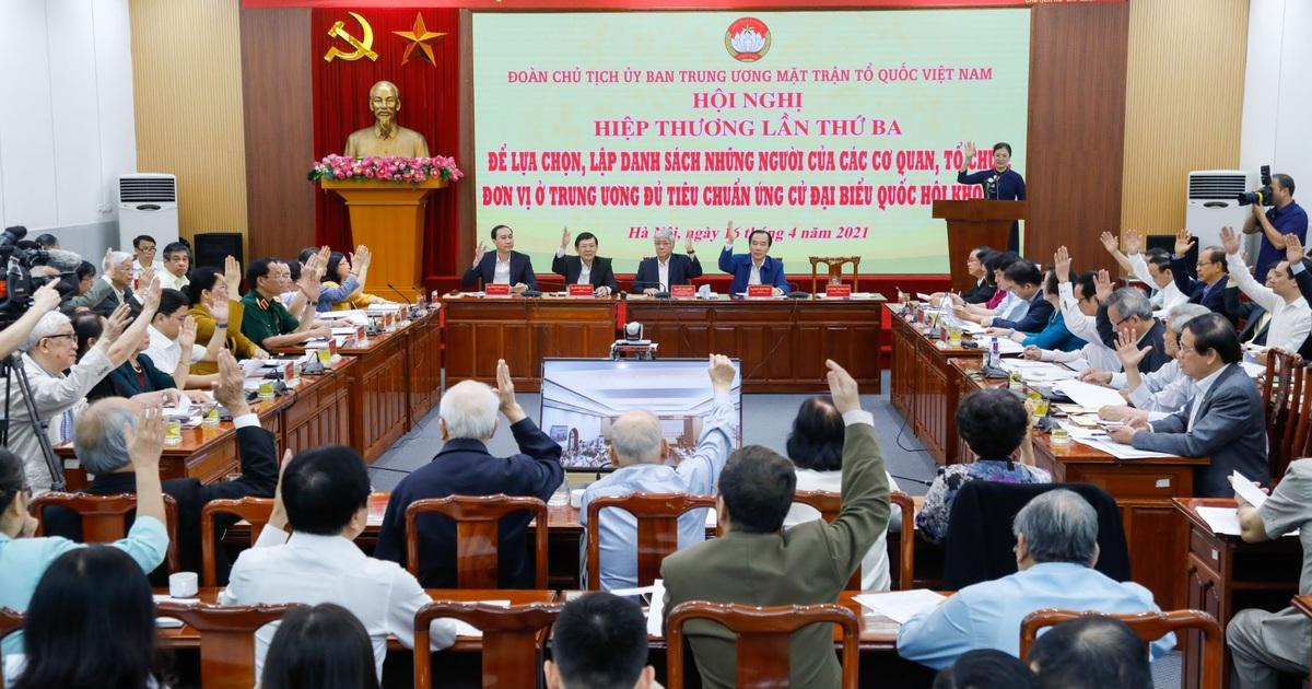 """100 đại biểu Quốc hội ở Trung ương được """"chốt"""" tái cử khóa mới"""