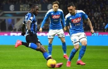 Link xem trực tiếp Napoli vs Inter (Serie A), 1h45 ngày 19/4