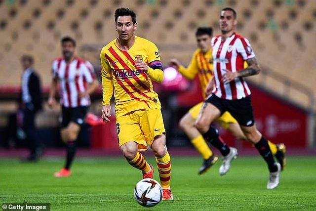 Messi lập cú đúp, Barcelona giành chức vô địch Cúp Nhà vua