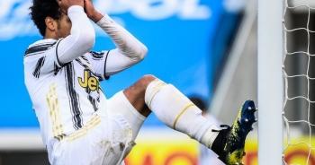 Vắng C.Ronaldo, Juventus đầu hàng ở cuộc đua vô địch Serie A