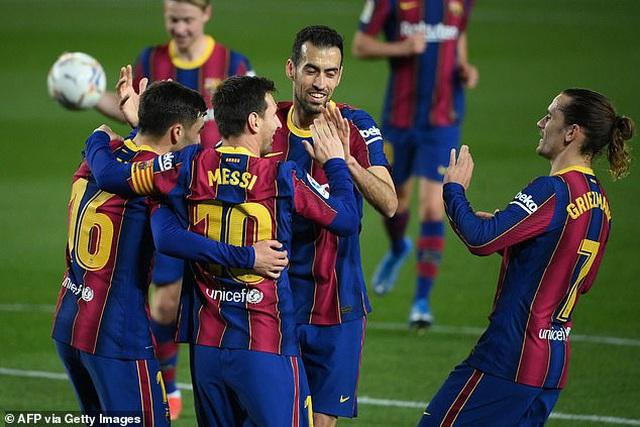 Messi lập cú đúp, Barcelona sống lại giấc mơ vô địch La Liga - 6