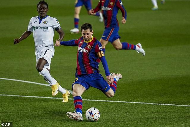 Messi lập cú đúp, Barcelona sống lại giấc mơ vô địch La Liga - 1