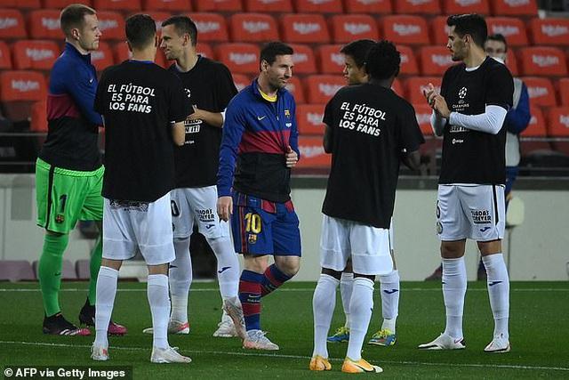 Messi lập cú đúp, Barcelona sống lại giấc mơ vô địch La Liga - 7