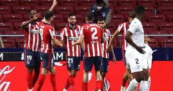Atletico đòi lại ngôi đầu bảng La Liga từ tay Real Madrid