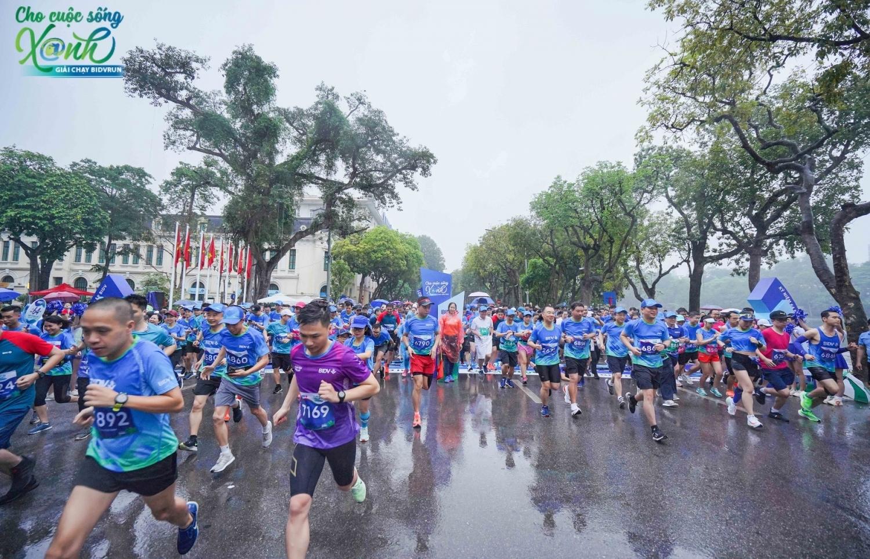 BIDV tổ chức giải chạy BIDVRUN – Cho cuộc sống xanh